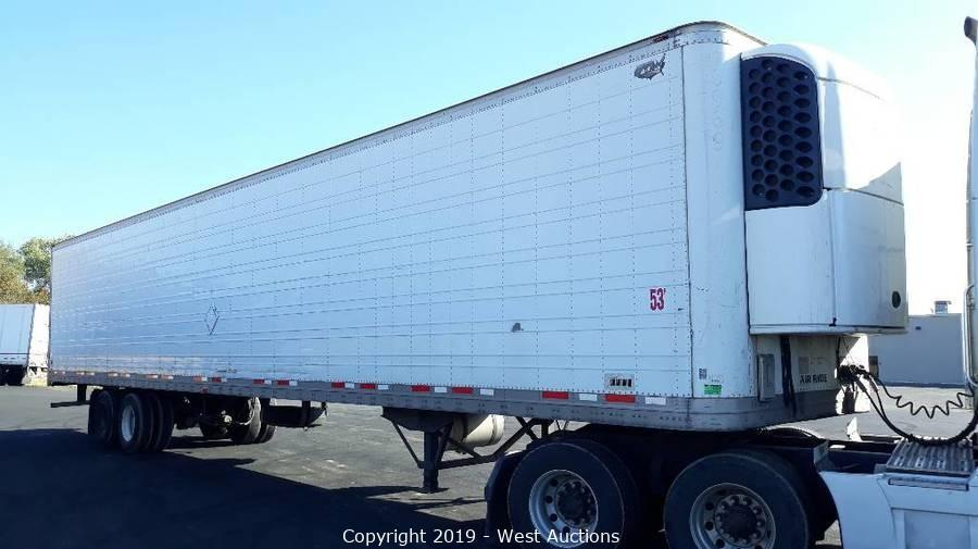 Two 2011 Volvo D13 Sleeper Truck Tractors and 2007 Wabash 53' Reefer Trailer