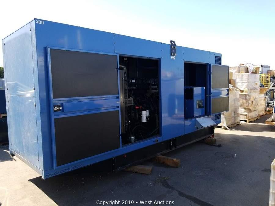 Online Auction of SDMO Industries V500UC2 Generator