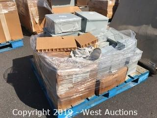 Pallet of (15+) Nvent Electrical Boxes