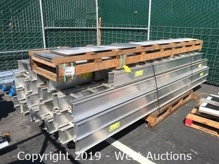 Pallet of Eaton B-Line Cable Ladder Rack Equipment