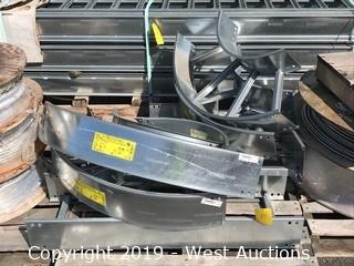 Pallet of Custom Aluminum Fittings