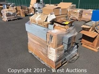 Pallet Of Electrical Covers, Panels, Filter Cartridges, And More