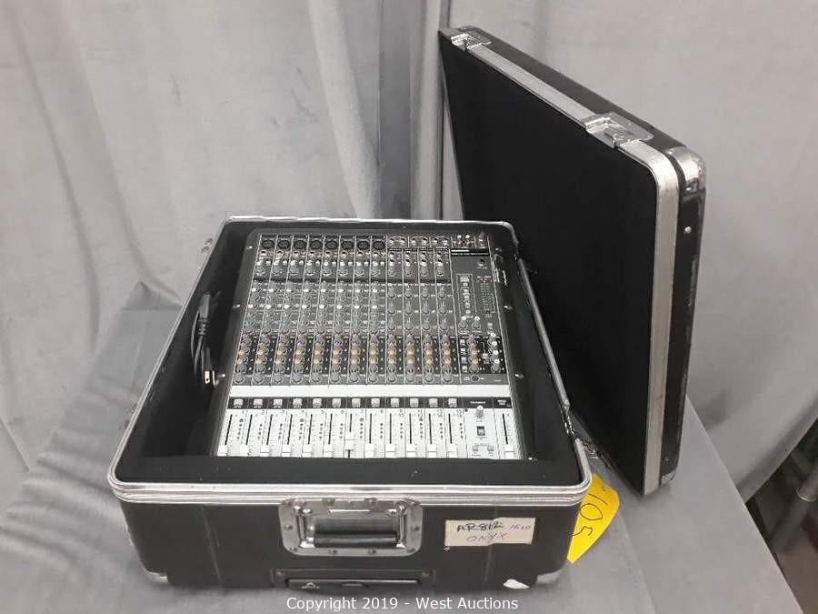 Professional Audio, Visual, and Event Production Equipment Auction