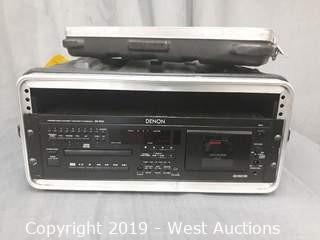 Denon DN-T620 Precision Audio Component/CD/Cassette Combi-Deck With Road Case