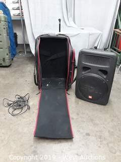 JBL Eonsub G2 Powered Speaker With Case