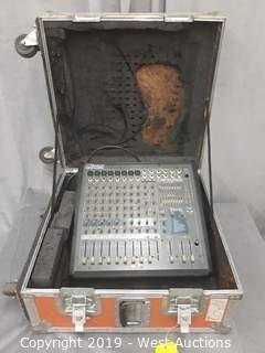 Yorkville AP812 800 Watt Stereo Mixer With Portable Road Case