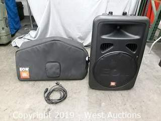 JBL EON15 G2 Powered Speaker With Case