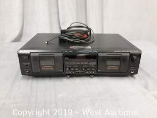 Sony TC-WE635S Cassette Deck