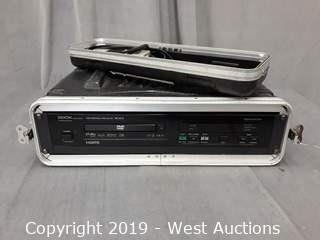 Denon DN-V210 Professional DVD Player With Road Case