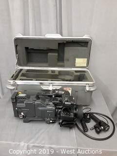 Sony DXC-D35WS Digital Video Camera Kit With Road Case