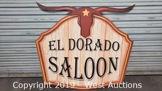 Printed El Dorado Sign Decor