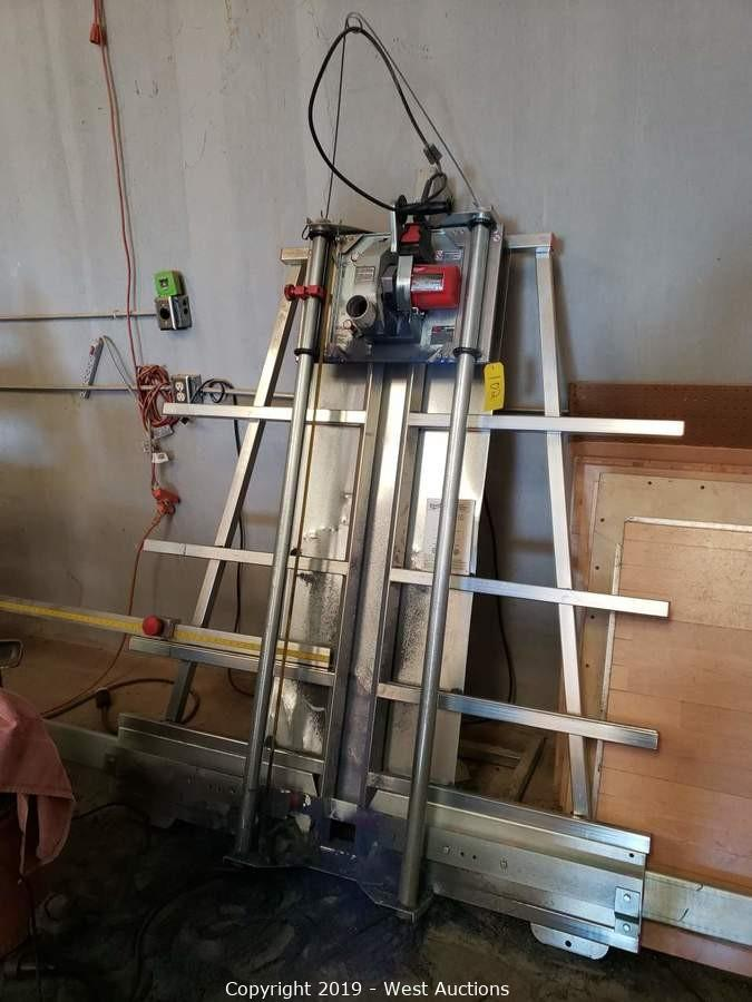 Woodworking Machinery Auction from Dance Floor Manufacturer