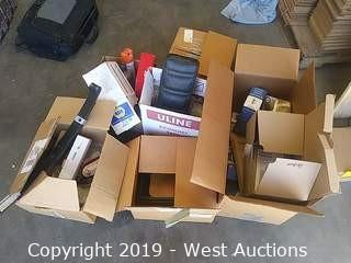 Bulk Lot: (5) Boxes Assorted Auto Parts & Accessories