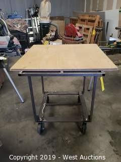 "Steel Frame Cart 49"" x 35"" x 41"""