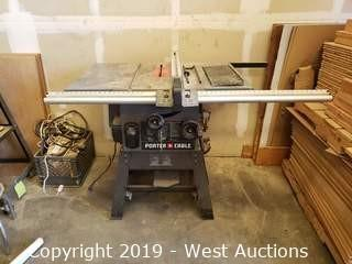 Porter Cable PCB270TS Table Saw