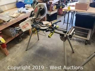 "Ryobi 10"" Exactline Laser Table Saw With Stand"