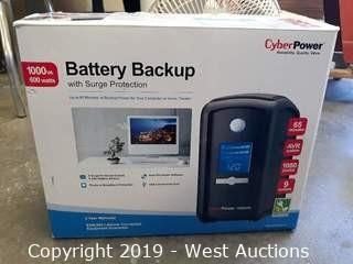 Cyber Power 1000VA Battery Backup Surge Protector