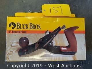 "Buck Bros 9"" Smooth Plane"