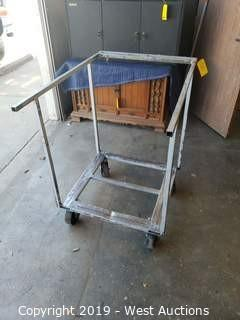"Rolling Material Cart 30"" x 45"" x 41"""