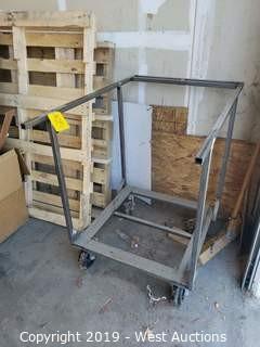 "Material Cart 30"" x 45"" x 41"""