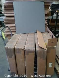 (5) Boxes of (10) 2'×2' Shock Absorbing Foam Tiles