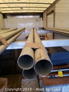 (4) 9' Drape Poles