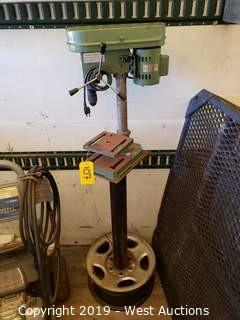 Central Machinery 1/3 HP Drill Press On Custom Stand