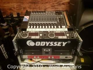 Odyssey Rack in Road Case with Contents