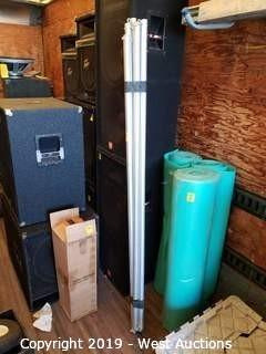 (6) 6' Aluminum Hanger Poles
