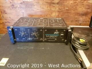 Peavey M-2600 Mark V Stereo Power Amplifier