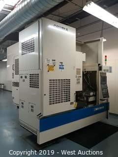 Okuma MX-55 VB 5-Axis CNC Vertical Machining Center with Mac Oil Controller and Enomoto Chip Conveyor