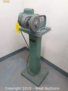 Burr King 600 De-Burring And Polishing Machine