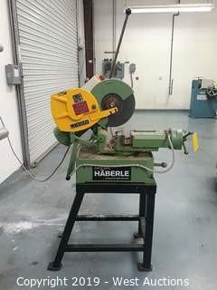 "Haberle H300 12"" Cut Off Saw with Stand"