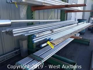 Aluminum Stock: (31) Units Of Rod Stock