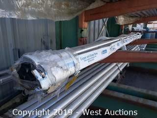 """Aluminum Stock: (10) 1½"""" X 12' Rod"""