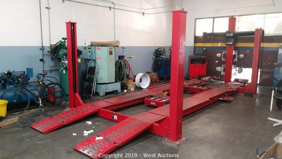 Online Auction of Automotive Tire Shop Equipment for Sale in Pleasanton, CA