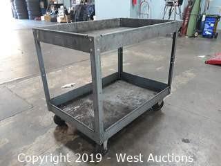 Steel Utility Cart 3'x2'