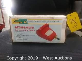 Mountain MTN8405 Air Vacuum Pump