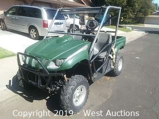 2006 Yamaha Rhino 660 4x4 Side By Side