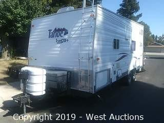 2004 Thor Tahoe 21WTB 21' Toy Hauler Travel Trailer