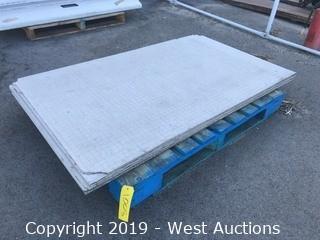 (7) Pieces Of 3'x5' HardieBacker Cement Board