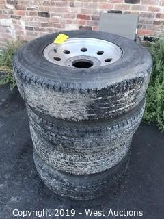 (4) Toyo H/T Tires