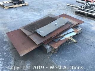 Pallet of Steel Remnants