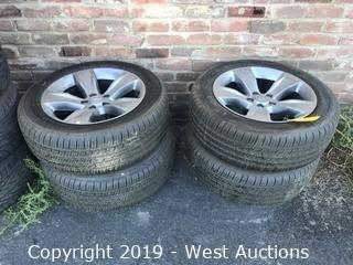 (4) Michelin 235/55R18 Tires