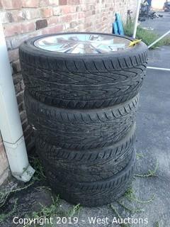 (4) Toyo 245/45ZR20 Tires