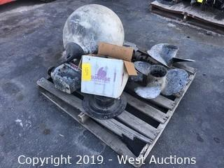 Pallet Of Mercury Motor Parts And Rotors