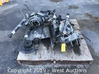 Pallet Of Mercury Boat Motor Parts