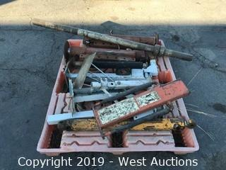 Pallet of Trailer Stands and More