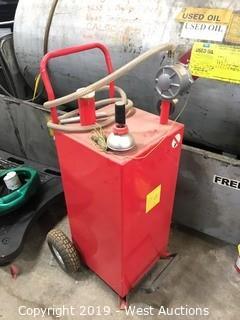 Portable Fuel Transfer Tank