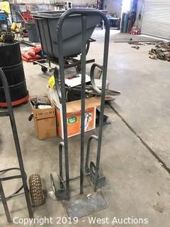 Handtruck With Solid Tires